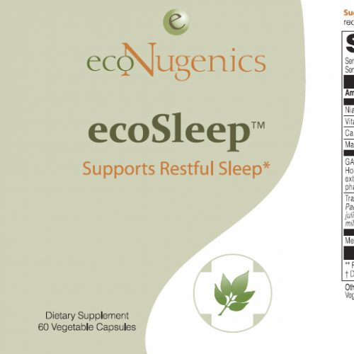 ecoSleep-label